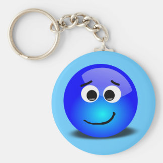 88-Free-3D-Apprehensive-Smiley-Face-Clipart-Illust Keychain