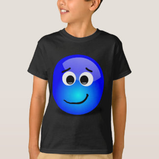 88-Free-3D-Apprehensive-Smiley-Face-Clipart-Illust T-Shirt