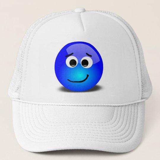 88-Free-3D-Apprehensive-Smiley-Face-Clipart-Illust Trucker Hat