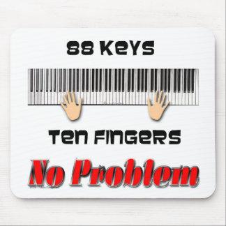 88 Keys Mouse Pad