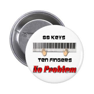 88 Keys Ten Fingers Button