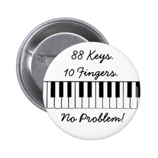 ¡88 llaves., 10 dedos., ningún problema! pins
