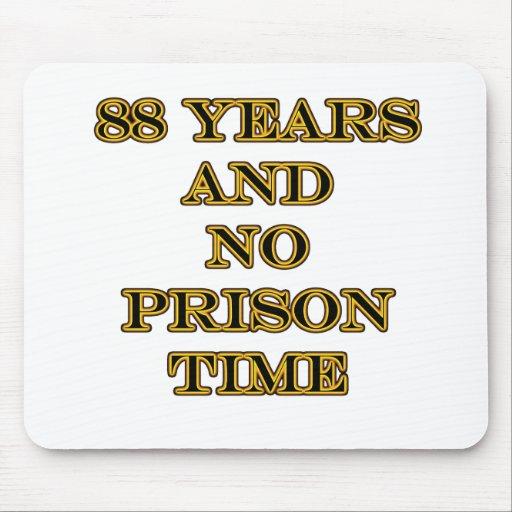 88 ninguna hora de prisión tapetes de raton