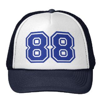 88 - número gorros