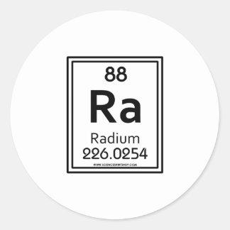 88 Radium Classic Round Sticker