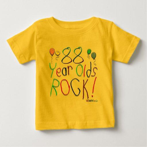 88 Year Olds Rock ! Tee Shirt