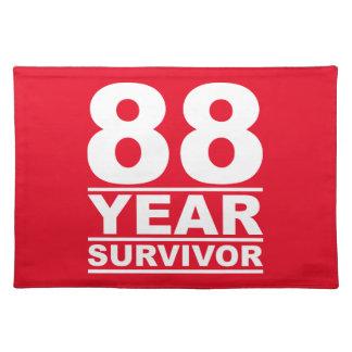 88 year survivor placemat