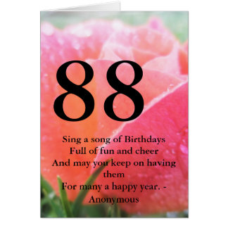 Birthday Cards Greeting Photo Zazzle Jpg 324x324 Happy 88 Years Old