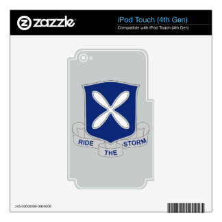 88th Infantry Regiment - Ride The Storm iPod Touch 4G Skin