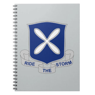88th Infantry Regiment - Ride The Storm Notebook