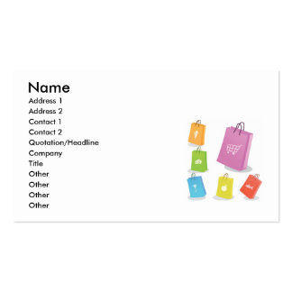 89080897078, Name, Address 1, Address 2, Contac... Business Card Template