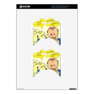 891 Memory tear cartoon Xbox 360 Controller Skins