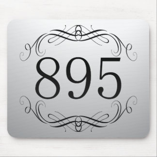 895 Area Code Mouse Pad