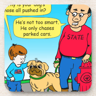 895 dog chases parked cars cartoon coaster