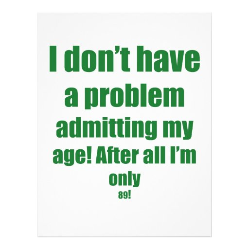 89 admita mi edad membrete personalizado