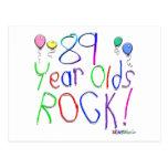 ¡89 años de la roca! postales