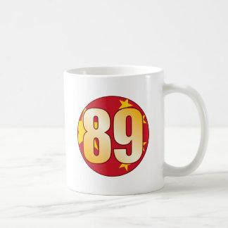89 CHINA Gold Coffee Mug