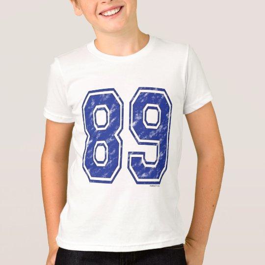 89 Custom Jersey T-Shirt