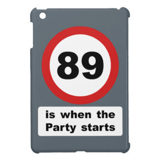 89 is when the Party Starts iPad Mini Cover