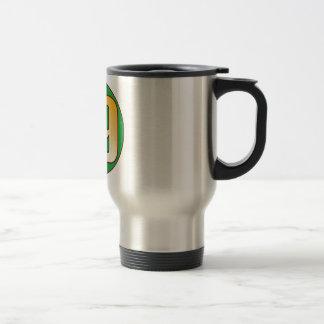 89 NIGERIA Gold Travel Mug