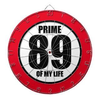 89 - Prime of my life Dartboard With Darts