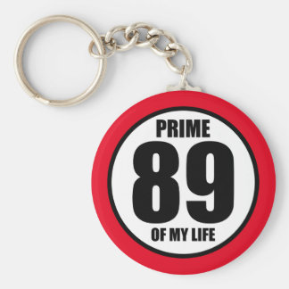 89 - Prime of my life Keychain