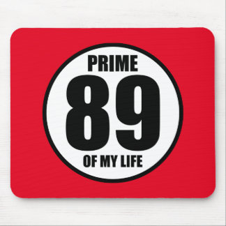 89 - Prime of my life Mouse Pad