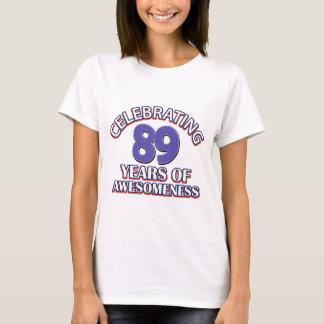 89 year gift designs T-Shirt