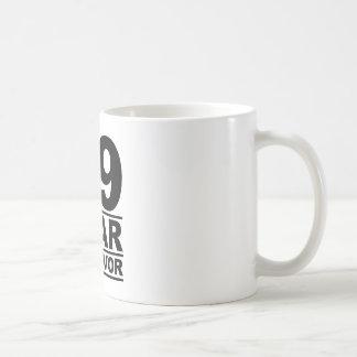 89 year survivor coffee mug