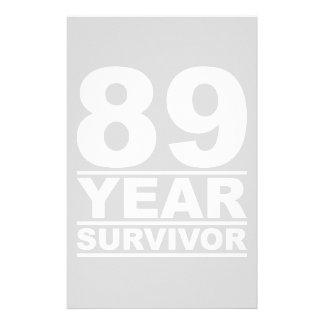89 year survivor stationery
