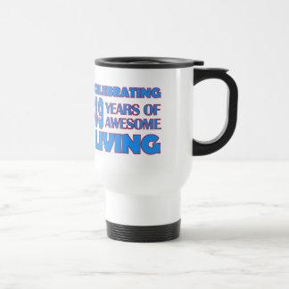 89 years old birthday designs travel mug