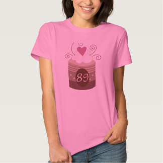 89th Birthday Gift Ideas For Her Tee Shirts