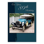 89th Birthday Greeting Card