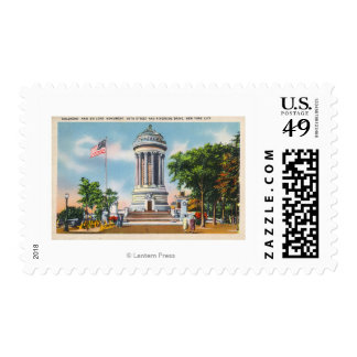 89th St & Riverside Drive Soldiers' Postage