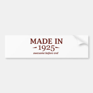 89th year old gifts bumper sticker