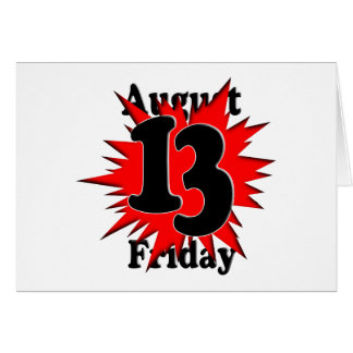 8-13 Friday the 13th Card