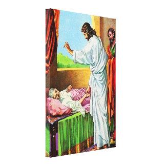 8:14 de Matthew - la suegra de 15 Peter de cura Lona Estirada Galerías