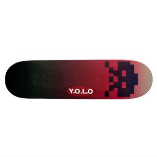 """8 1/2"""" Fatboy Yolo Gamer Skateboard deck design"""
