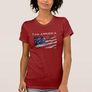 8-28  I am AMERICA Tee Shirt