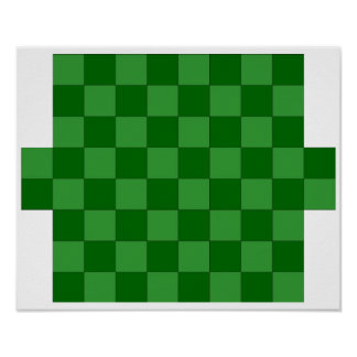 8(+2)x8  Checkers TAG Board (Fridge Magnet Game) Poster