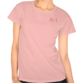 8 < 3 camisa sutil 1 - rosa