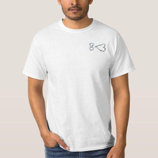 8 < 3 Subtle Shirt 2 - Black
