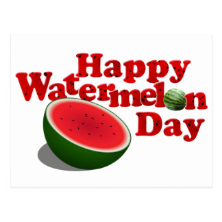 8-3 Watermelon Day Postcard