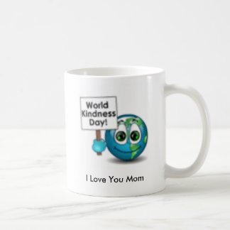 8_4_58, te amo mamá taza básica blanca