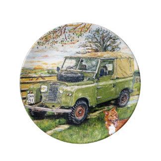 "8.5"" Plate ""FARM"" by Gary John Langford Crisp"