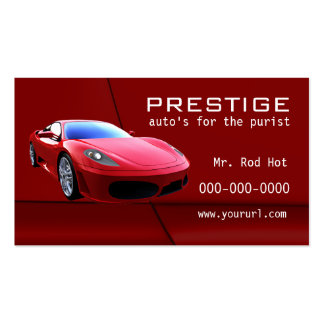 8 Automotive Industry business card