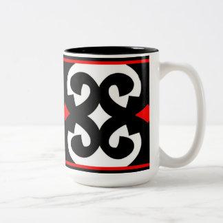 8 B Mug - Red