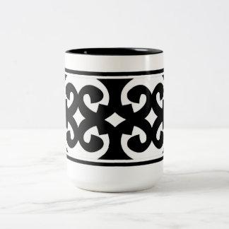 8 B Mug - White