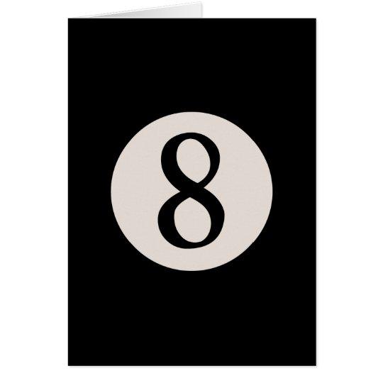 8-Ball 8 Card