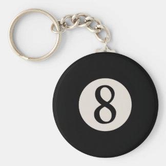 8-Ball 8 Keychain